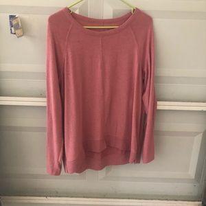 Blush cozy Sonoma sweater
